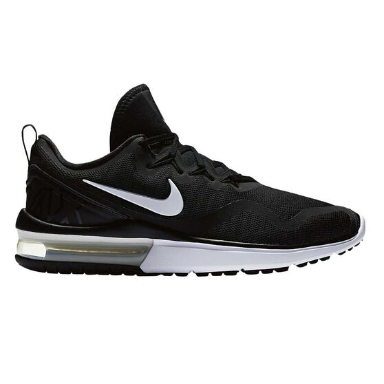 e83d0289dc4 Nike Air Max Fury Mens Running Shoes Black   White US 8