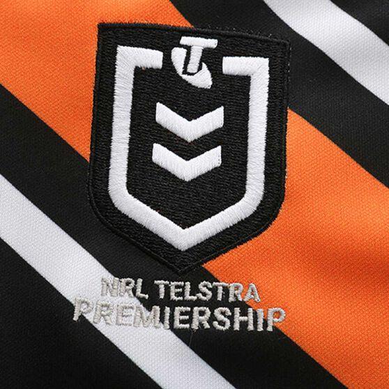 Wests Tigers 2020 Kids Home Jersey, Black / Orange, rebel_hi-res