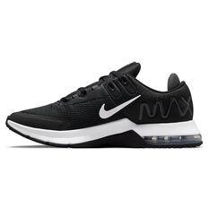Nike Air Max Alpha Trainer 4 Mens Training Shoes Black/White US 7, Black/White, rebel_hi-res