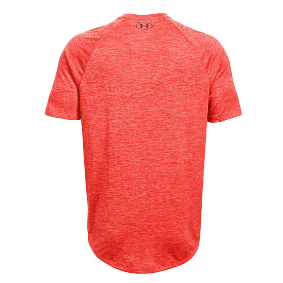 Under Armour Mens Tech 2.0 Training Tee, Red, rebel_hi-res
