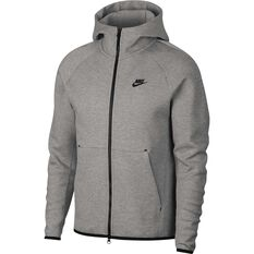 Nike Mens Sportswear Tech Fleece Windrunner Hoodie Dark Grey XS, Dark Grey, rebel_hi-res