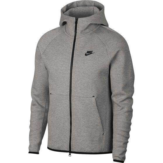 Nike Mens Sportswear Tech Fleece Windrunner Hoodie, Dark Grey, rebel_hi-res
