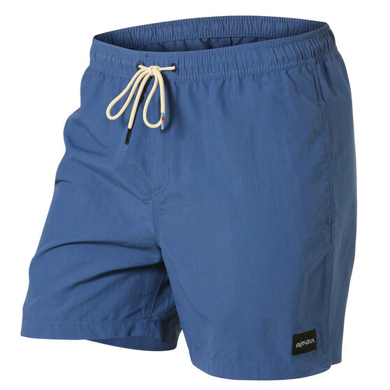 Quiksilver Mens Rigby 17in Volley Shorts, Blue, rebel_hi-res
