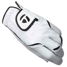 Taylor Made Stratus All Weather Mens Golf Glove White / Black Left Hand, White / Black, rebel_hi-res