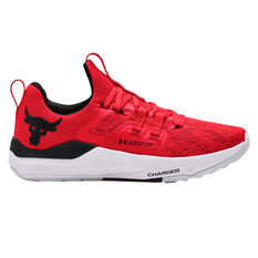 Under Armour Project Rock BSR Mens Training Shoes Red/White US 7, Red/White, rebel_hi-res