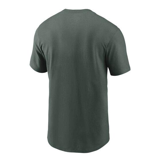 Green Bay Packers 2020 Mens Logo Essential Tee, Green, rebel_hi-res