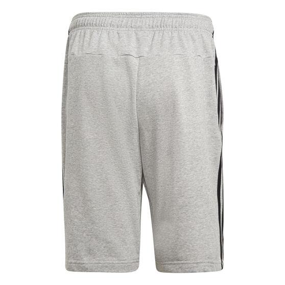 adidas Mens Essentials 3-Stripes French Terry Shorts, Grey, rebel_hi-res