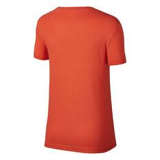 Nike Womens Sportswear Swoosh Tee Coral XS, Coral, rebel_hi-res