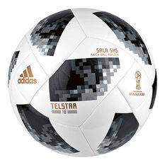adidas Telstar 2018 World Cup Sala 5x5 Soccer Ball White / Black 4, , rebel_hi-res