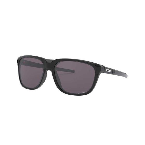 Oakley Anorak Sunglasses Polished Black / Prizm Grey, Polished Black / Prizm Grey, rebel_hi-res
