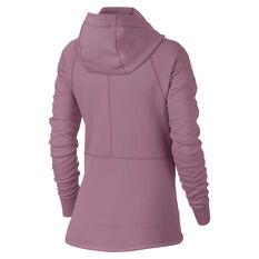 Nike Womens Sportswear Tech Fleece Windrunner Hoodie Pink XS, Pink, rebel_hi-res