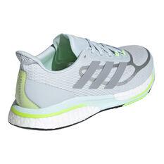 adidas Supernova+ Womens Running Shoes, Blue/Silver, rebel_hi-res
