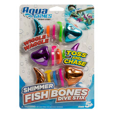 Aqua Splash Fish Bones Dive Stix, , rebel_hi-res