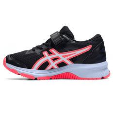 Asics GT 1000 10 Kids Running Shoes Black/Blue US 11, Black/Blue, rebel_hi-res