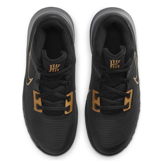 Nike Kyrie Flytrap 4 Kids Basketball Shoes, Black, rebel_hi-res