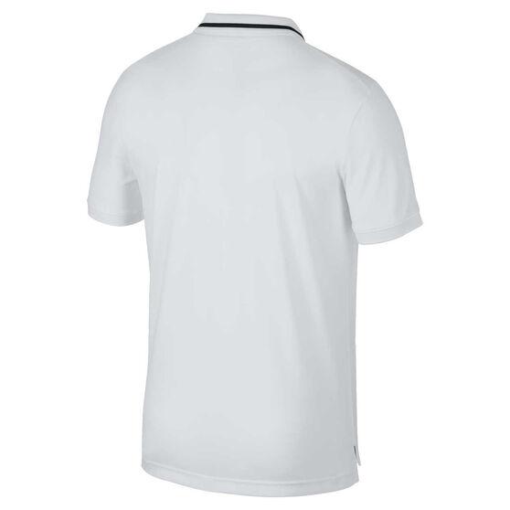 NikeCourt Mens Dri-FIT Tennis Polo, White, rebel_hi-res