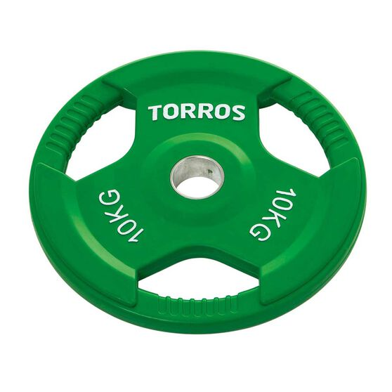 Torros 10kg Olympic Plate, , rebel_hi-res