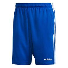adidas Mens Essentials 3 Stripes Chelsea Shorts Blue XS, Blue, rebel_hi-res