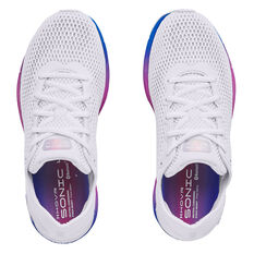 Under Armour HOVR Sonic 4 Colourshift Womens Running Shoes, White/Pink, rebel_hi-res