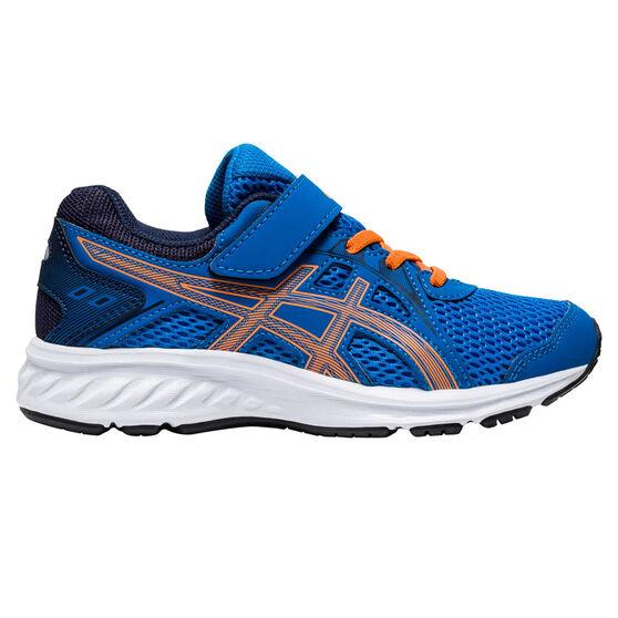 Asics Jolt 2 Kids Running Shoes, Blue/Orange, rebel_hi-res
