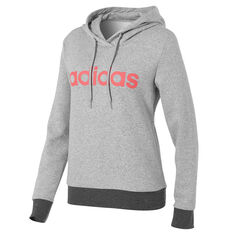 df6ecf104 adidas Womens Essentials Liner Pullover Hoodie Grey XS, Grey, rebel_hi-res  ...