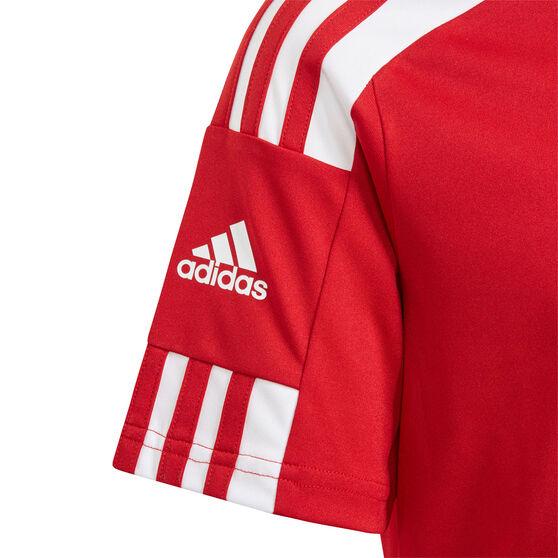 adidas Boys Squadra 21 Jersey, Red, rebel_hi-res
