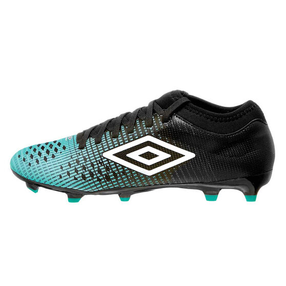 Umbro Velocita IV Club Kids Touch and Turf Boots, Black / White, rebel_hi-res