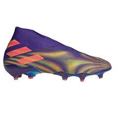 adidas Nemeziz + Football Boots Purple/Pink US Mens 7 / Womens 8, Purple/Pink, rebel_hi-res