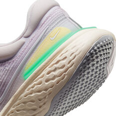Nike ZoomX Invincible Run Flyknit Womens Running Shoes, Lilac/White, rebel_hi-res