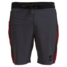 Quicksilver Mens Highline Arch 19in Board Shorts Black 30, Black, rebel_hi-res
