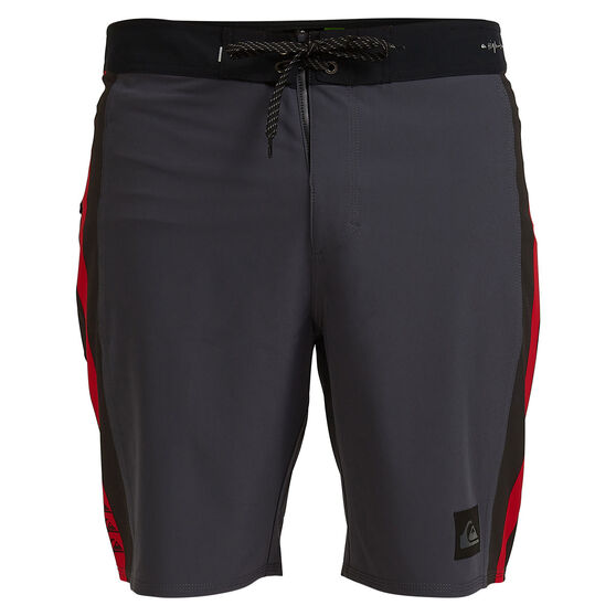 Quicksilver Mens Highline Arch 19in Board Shorts, Black, rebel_hi-res