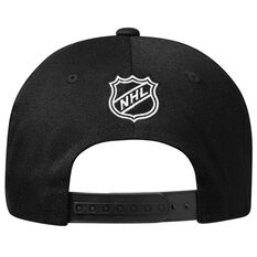Anaheim Ducks Black and White Crest 110 Cap, , rebel_hi-res