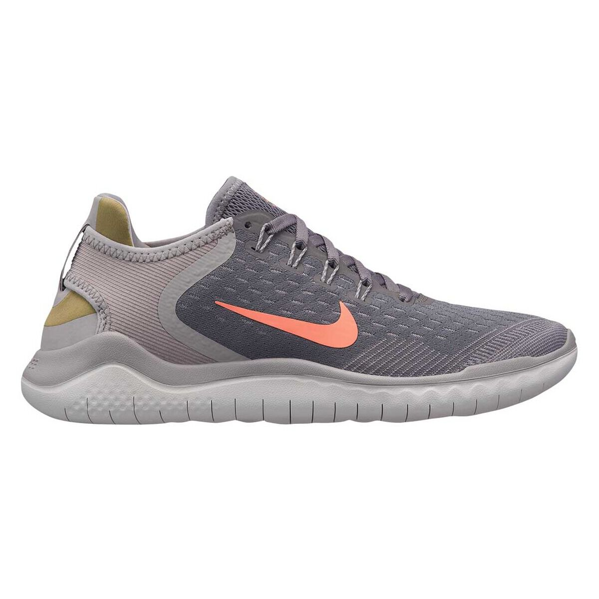 cheap for discount 39783 0ecda ... get nike free rn 2018 womens running shoes grey orange us 9 grey orange  da52d 400df