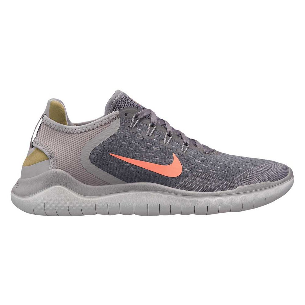 outlet store sale 5f946 69ed5 Nike Free RN 2018 Womens Running Shoes Grey   Orange US 6   Rebel Sport