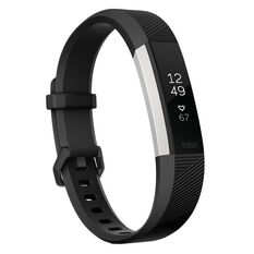 Fitbit Alta HR Activity Tracker S Black, , rebel_hi-res