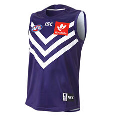 Fremantle Dockers 2019 Mens Home Guernsey Purple / White S, Purple / White, rebel_hi-res