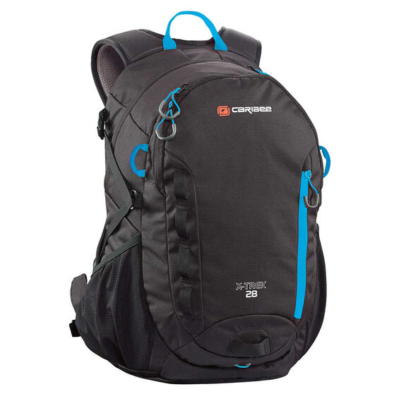 Caribee X Trek 28 Backpack Black, , rebel_hi-res
