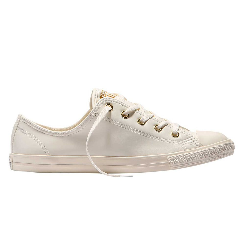 23f6b0c116010b Converse Chuck Taylor All Star Dainty Womens Casual Shoes White   Yellow US  7