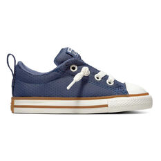 Converse Chuck Taylor All Star Street Toddlers Shoes Navy   White US 4 8c1ee2fed