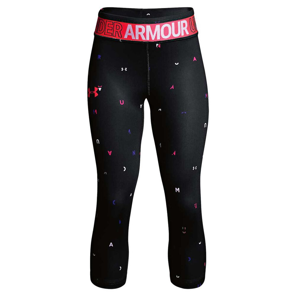 eb0a8768 Under Armour Girls HeatGear Armour Capri, , rebel_hi-res