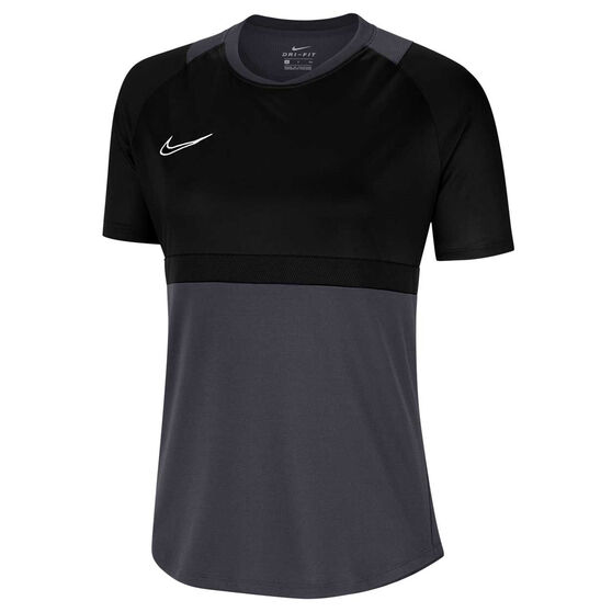Nike Womens Dri FIT Academy Soccer Tee, Blue, rebel_hi-res