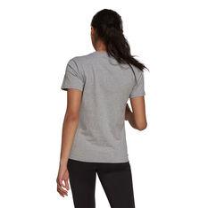 adidas Womens Loungewear Essentials Logo Tee Grey XS, Grey, rebel_hi-res