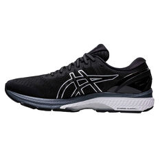 Asics GEL Kayano 27 Mens Running Shoes Black/Silver US 7, Black/Silver, rebel_hi-res