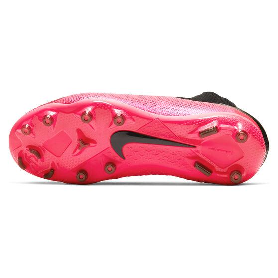 Nike Phantom Vision II Elite Kids Football Boots, Black / Red, rebel_hi-res