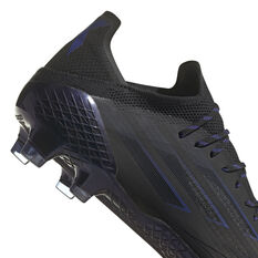 adidas X Speedflow .1 Football Boots, Black/Pink, rebel_hi-res
