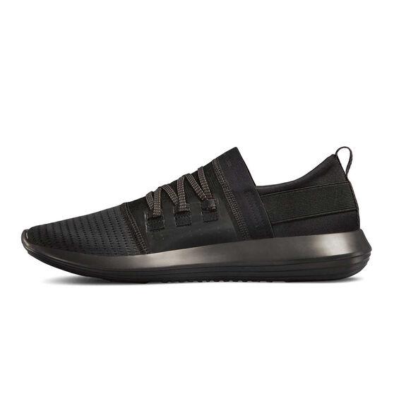 Under Armour Adapt Mens Casual Shoes, Black, rebel_hi-res