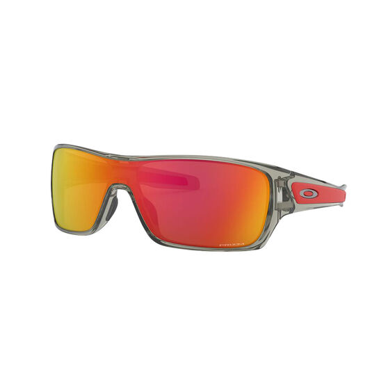 OAKLEY Turbine Rotor Sunglasses - Grey Ink with PRIZM Ruby, , rebel_hi-res