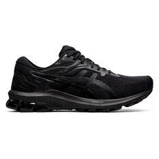 Asics GT 1000 10 Mens Running Shoes Black US 7, Black, rebel_hi-res