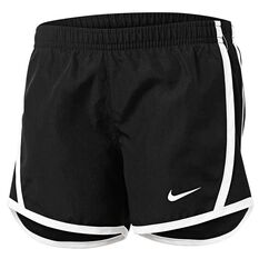 Nike Girls Dri-FIT Tempo Shorts Black / White 4, Black / White, rebel_hi-res