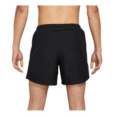 Nike Mens Dri-FIT Run Division 5inch Challenger Shorts Black S, Black, rebel_hi-res